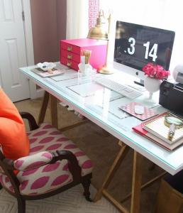 trabalho freelancer - controle até na hora de mobiliar seu escritório